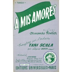 Sheet music A MIS AMORES Tani SCALA