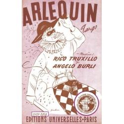 Sheet music ARLEQUIN Rico TRUXILLO
