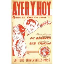 Sheetmusic AYER Y HOY Rico TRUXILLO