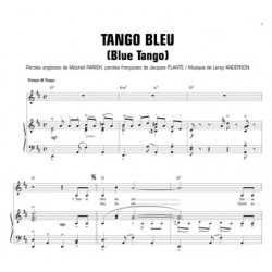 Partition TANGO BLEU (BLUE TANGO) Tino Rossi