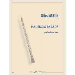 Partition HAUTBOIS PARADE Gilles Martin