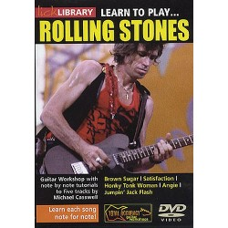 Lick Library: Learn To Play The Rolling Stones (DVD)