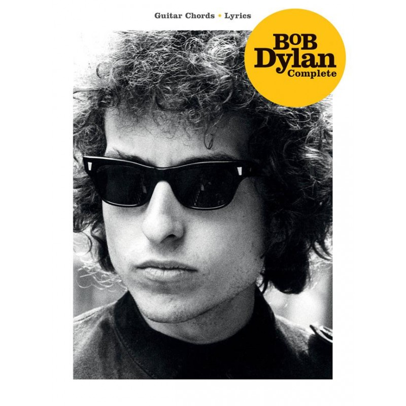 4a86e26f2d3e Songbook lyrics and guitar chords BOB DYLAN COMPLETE