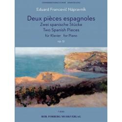 Sheet music TWO SPANISH PIECES Eduard Francevič Nápravník