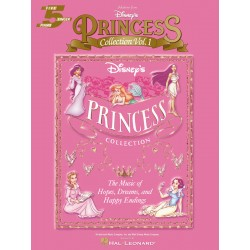 Songbook DISNEY'S PRINCESS COLLECTION VOL.1