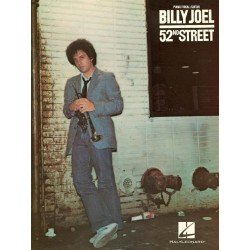 Songbook BILLY JOEL 52ND STREET