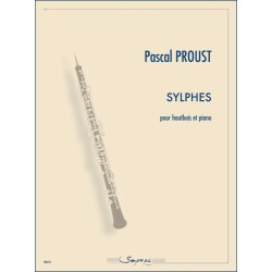Sheet music SYLPHES Pascal Proust