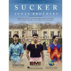 Sheet music SUCKER Jonas Brothers