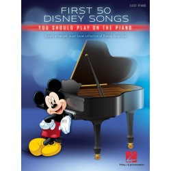 Songbook piano FIRST 50 DISNEY SONGS