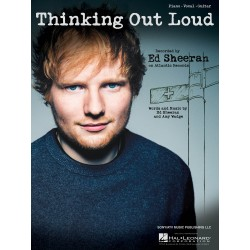 Sheet music THINKING OUT LOUD Ed Sheeran