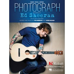 Sheet music PHOTOGRAPH Ed Sheeran
