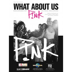 Sheet music WHAT ABOUT US Pink