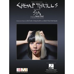 Sheet music CHEAP THRILLS Sia