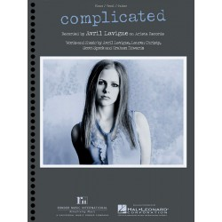 Sheet music COMPLICATED Avril Lavigne