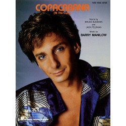 Sheet music COPACABANA Barry Manilow