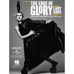 Sheet music THE EDGE OF GLORY Lady Gaga