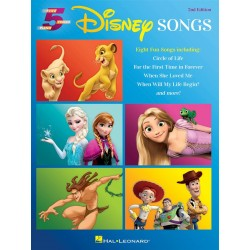 Songbook DISNEY SONGS