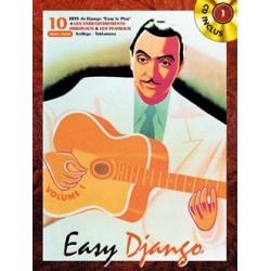 Songbook EASY DJANGO VOL.1 Django Reinhardt