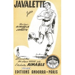 Partition JAVALETTE AIMABLE
