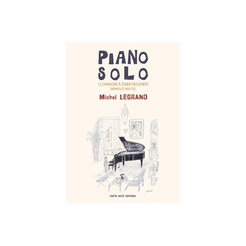 PIANO SOLO MICHEL LEGRAND