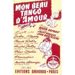 Partition MON BEAU TANGO D'AMOUR Maurice LARCANGE