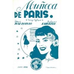 Partition MUNECA DE PARIS