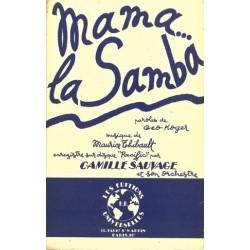 Partition MAMA LA SAMBA Maurice THIBAULT