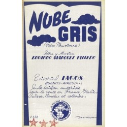 Sheet music NUBE GRIS Eduardo MARQUEZ TAILLEDO