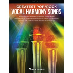 Songbook GREATEST POP/ROCK VOCAL HARMONY SONGS