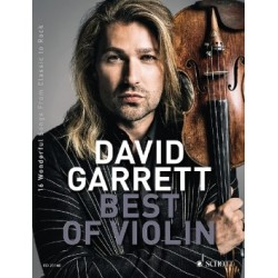 Songbook DAVID GARRETT BEST OF VIOLIN
