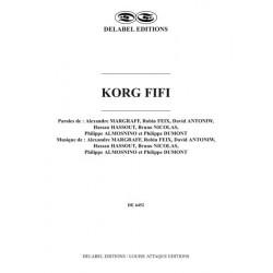 Partition KORG FIFI ALI DRAGON