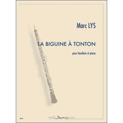 Partition LA BIGUINE À TONTON Marc Lys