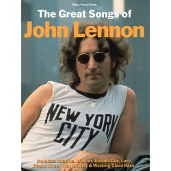 THE GREAT SONGS OF JOHN LENNON