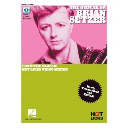 Songbook THE GUITAR OF BRIAN SETZER