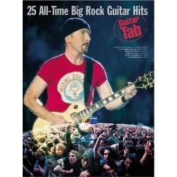 25 ALL-TIME BIG ROCK GUITAR HITS (TAB)