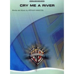 Sheet music CRY ME A RIVER Julie London