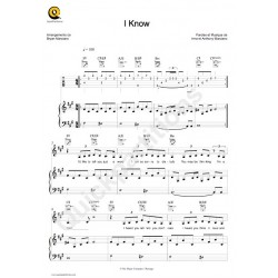 Sheet music I KNOW IRMA