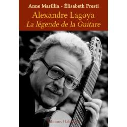 Livre LA LÉGENDE DE LA GUITARE Élisabeth Presti & Anne Marillia