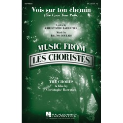 Sheet music SEE UPON YOUR PATH Les Choristes