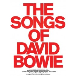 Songbook THE SONGS OF DAVID BOWIE