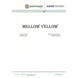 Sheet music MELLOW YELLOW Donovan