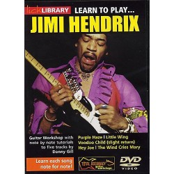 LICK LIBRARY : LEARN TO PLAY JIMI HENDRIX (DVD)