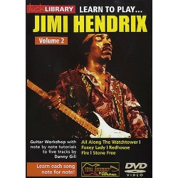 LICK LIBRARY : LEARN TO PLAY JIMI HENDRIX Vol.2 (DVD)
