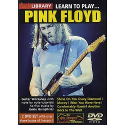 LICK LIBRARY : LEARN TO PLAY PINK FLOYD (2 DVD)
