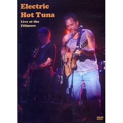 DVD ELECTRIC HOT TUNA LIVE AT THE FILLMORE