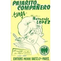 Partition PAJARITO COMPANERO Bernardo LOPEZ