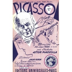 Partition PICASSO Astor PIAZZOLLA