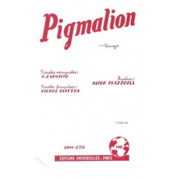 Partition PIGMALION Astor PIAZZOLLA