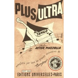 Partition PLUS ULTRA Astor PIAZZOLLA