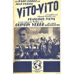 Partition VITO VITO Quintin VERDU